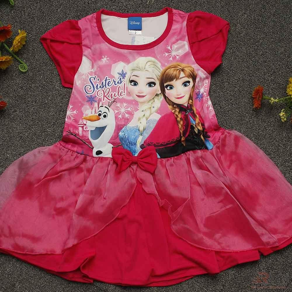 Frozen Fever baby Girls Dress