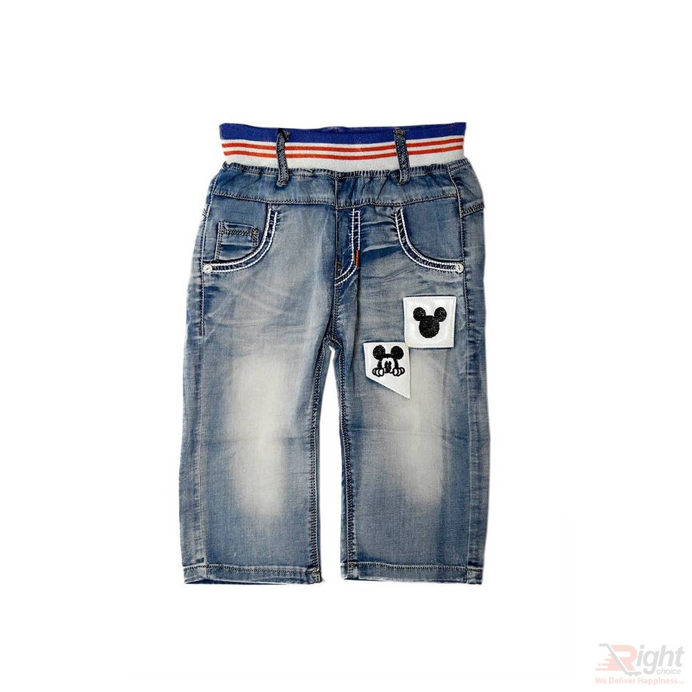 Mickey Mouse Baby Boy Jeans Pant