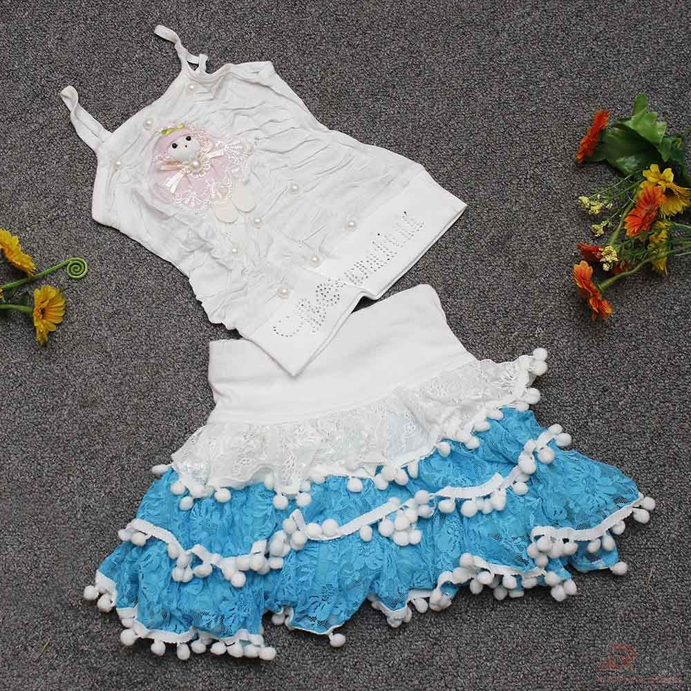 Toddler Baby Girls Dress with Beautiful Skirt