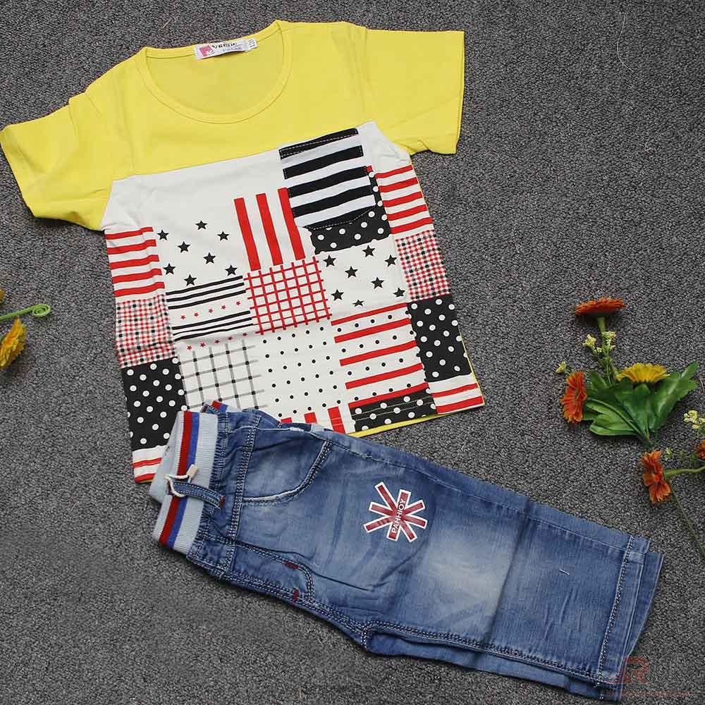 Fashionable Baby Boys T-shirt and Pants Sets
