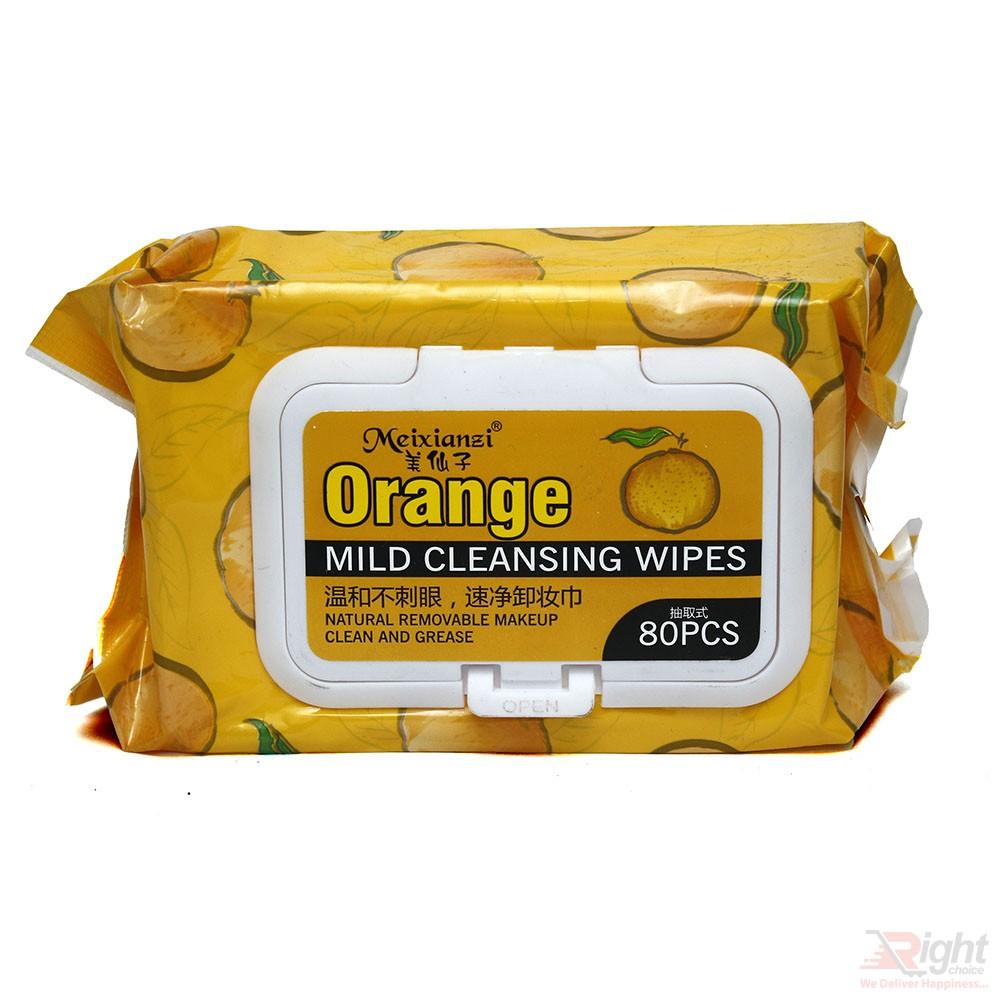 Orange Mild Cleansing Wipes