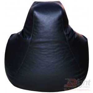 Large Teardrop Bean Bag – Black