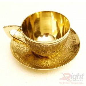 Brass 6 piece cup set