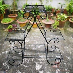 New Design Iron stand For Six Tob