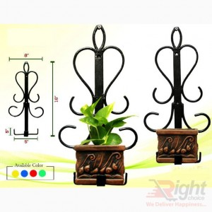 Square shape stand With Indoor Plants
