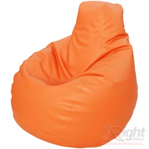 Large Teardrop Bean Bag – Orange