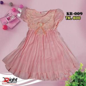 Princess Short Sleeves Baby Girls Dress