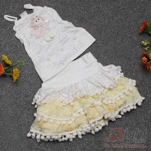 Toddler Baby Girls Dress with Beautiful Skirt