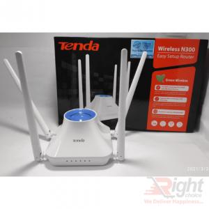Tenda F6 300Mbps N300 4 Antenna Wifi Router