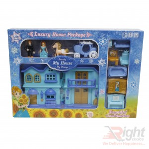 Luxury House Package Toy Set