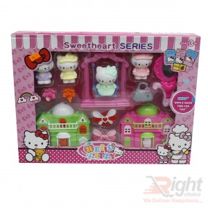 Hello Kitty Sweetheart Series Toy Sets