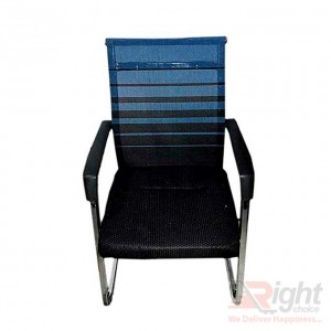 SF-086 - Fixed Chair - Black And Blue