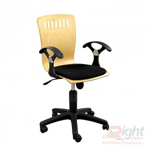 SF-315- 7k '' Swivel Chair - Black