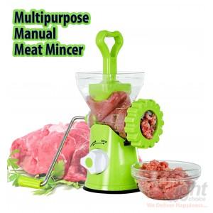 multipurpose manual meat mincer