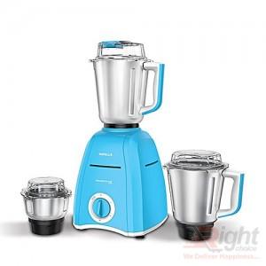 Havells Momenta Nv 750W Mixer Grinder 3 SS Jars - Blue