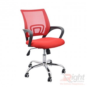 SF-69 SS Swivel Chair - Red