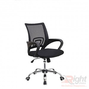 SF-318-SS Swivel Chair - Black