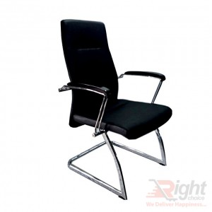SF-303 Executive Fixed Chair - Black