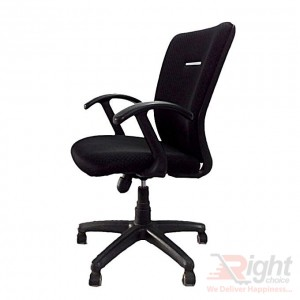 SF-52-K-DSP TP Swivel Chair - Black