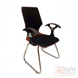 SF-54-99 K Fixed Chair - Black