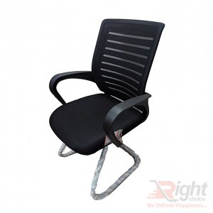 SF-58-9 K Fixed Chair - Black
