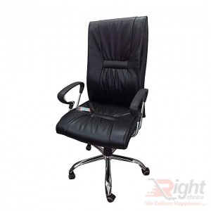 SF-60-125 Hi Back Chair - Black