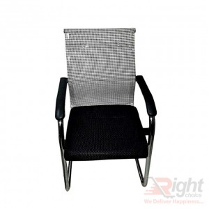 SF-084 - Fixed Chair - Black And White