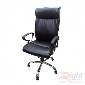 SF-61-121 Hi Back Chair - Black