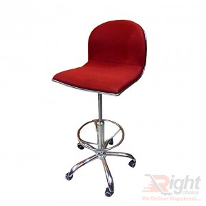 SF-418-R Reception Counter Chair - Red
