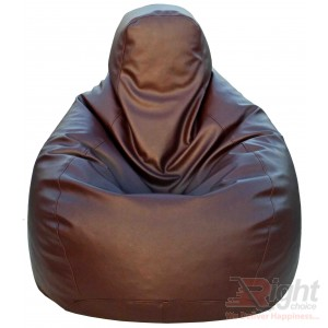Large Teardrop Bean Bag – Chocolate