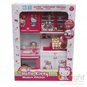 Hello Kitty Modern Kitchen Play Set