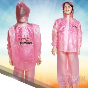 Kid`s Crystel Design  Raincoat