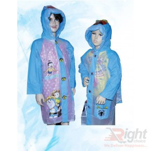 Kid`s Doraemon Design  Raincoat