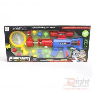Aerodynamic Children Soft Bullet Gun