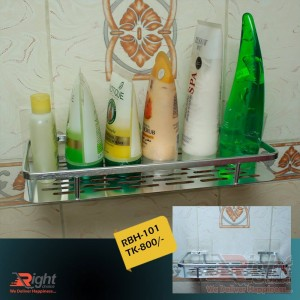 Bathroom Flat Shelf (stainless Steel)