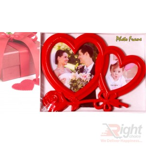 Double Love  layer photo frame