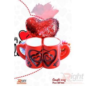 Valentine Gift Set(Magic Pillow & Kissing Mug)