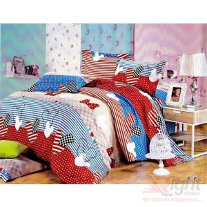 Softy Cotton Satin Bed-sheet