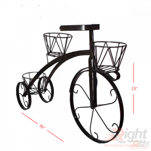 Bicycle shape Stand-Black