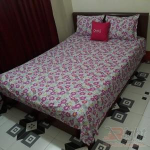 Multi Color Cotton Bed Sheet Set