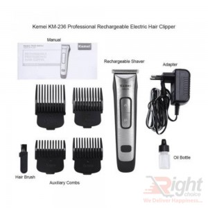 Kemei KM-236 Rechargeable Electric Hair Clippers