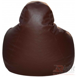 Extra Large Teardrop Bean Bag – Chocolate