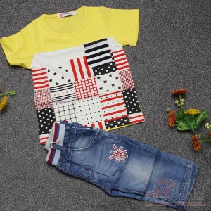Fashionable Baby Boys T-shirt and Pants Sets