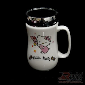 Hello Kitty Mirror Coffee Mug