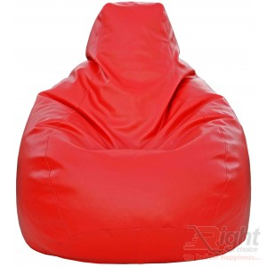 Large Teardrop Bean Bag – Red