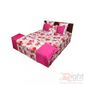 Cotton Bedding and Comforter Sets -  Pink