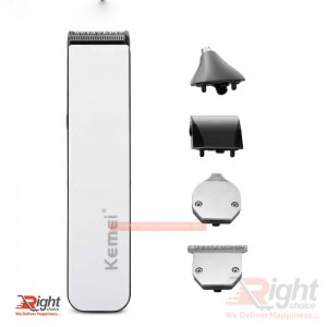 Kemei KM 3590 5 in 1 Rechargeable Electric Trimmer & Shaver