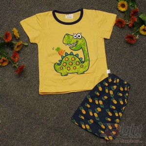 Funny Turtle Printed T-shirt with Pants