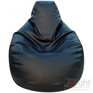 Double Extra Large Teardrop Bean Bag – Black