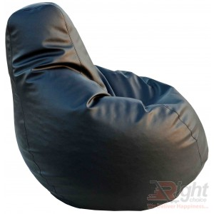Extra Large Teardrop Bean Bag – Black